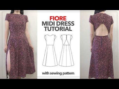 Fiore Midi Dress Tutorial