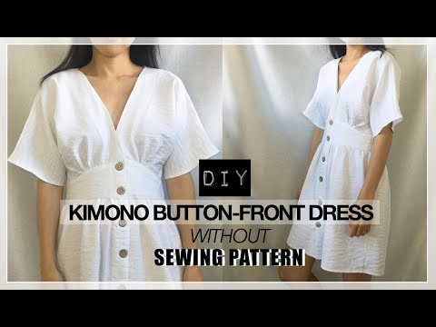 DIY Kimono Dress Without A Pattern