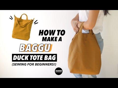 DIY Tote Bag (Free Bag Pattern!)