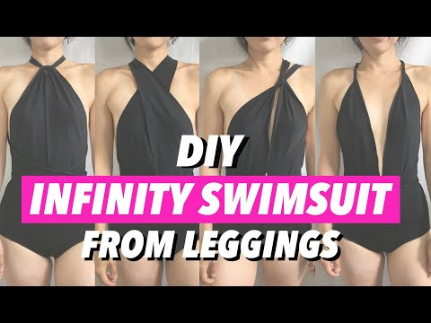 Infinity Swimsuit From Leggings