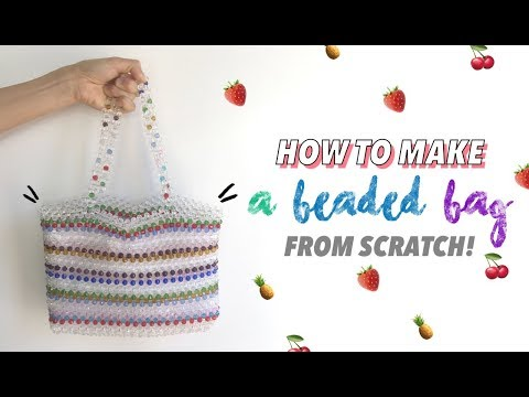 How To Make A Beaded Bag From Scratch (Includes Free Pattern!) | Fashion Wanderer