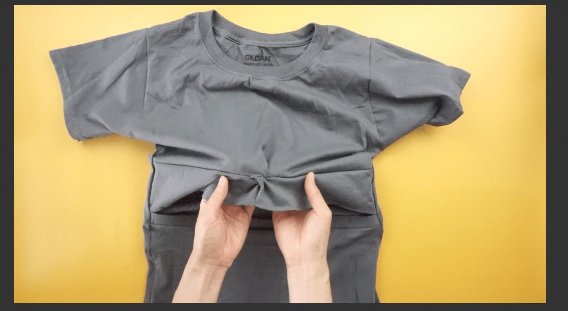 Finished twist front t-shirt dress