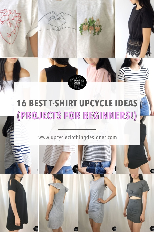 best t-shirt upcycle projects