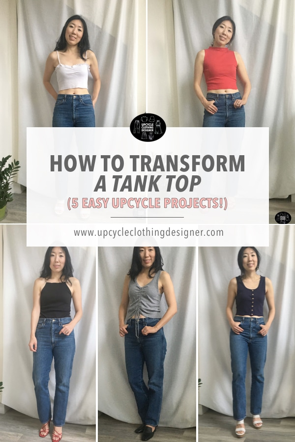 best tank top upcycle projects