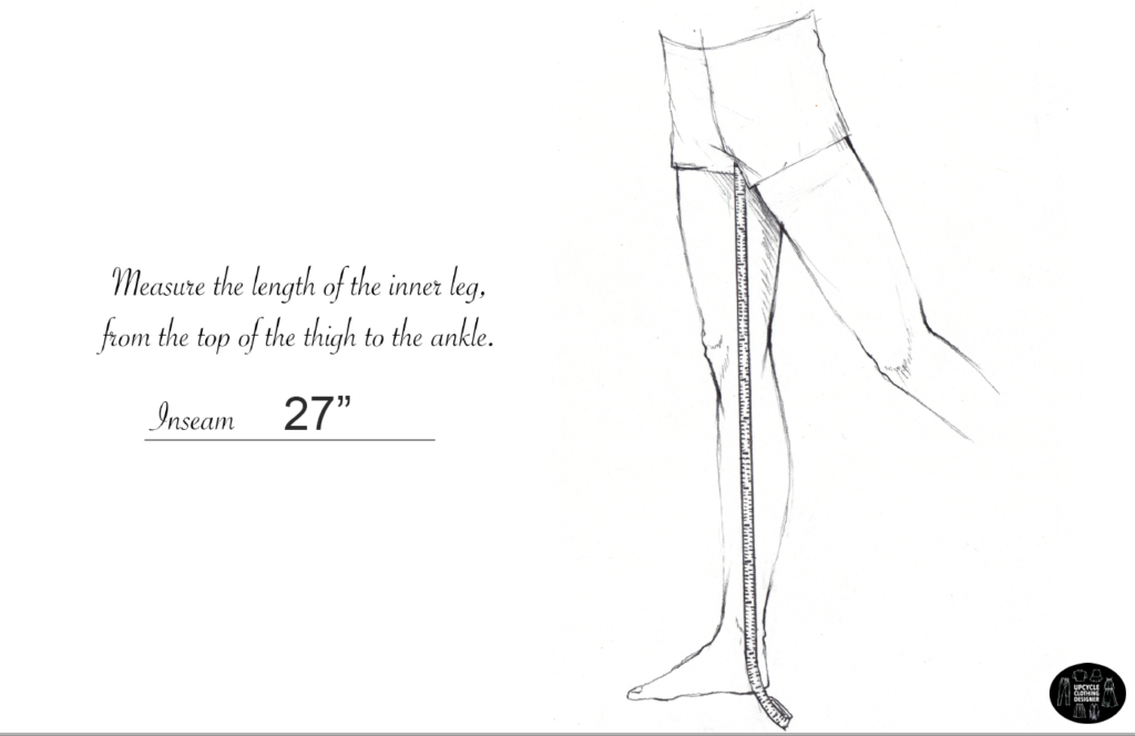 How to measure the inseam