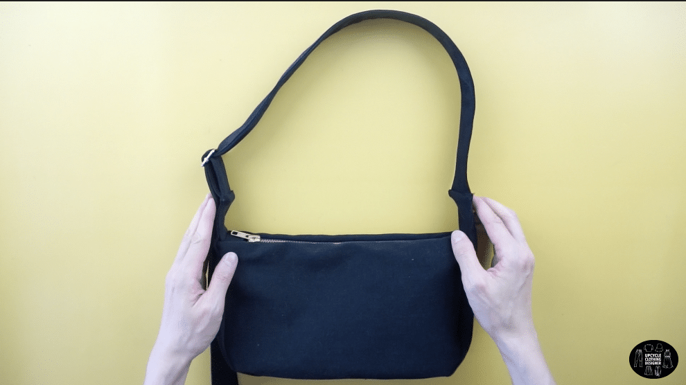 DIY purse from old jeans