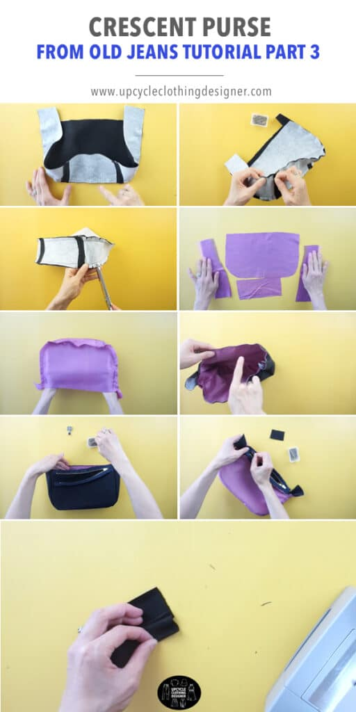 How to make a purse lining