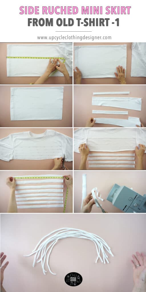 How to make ruched drawstrings