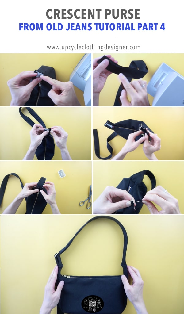 How to make a shoulder strap for a diy purse
