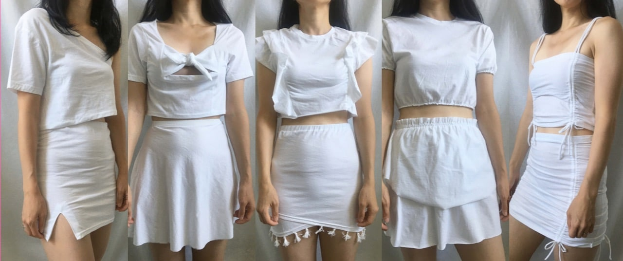 T-Shirt To Mini Skirt (5 DIY Mini Skirt Upcycle Projects!)