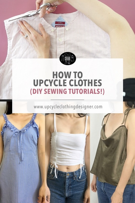 Best upcycle clothes projects