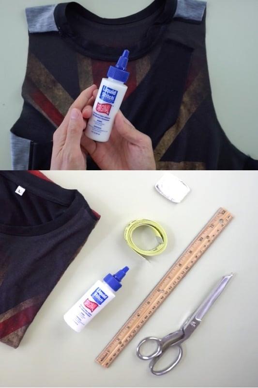 No sew fabric glue for clothes