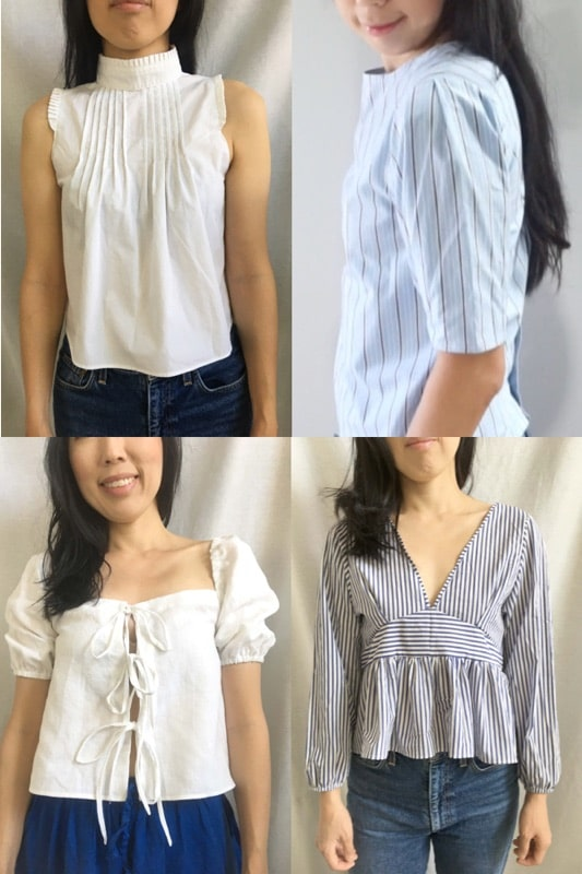 How To Make Women's Blouses From Men's Shirt