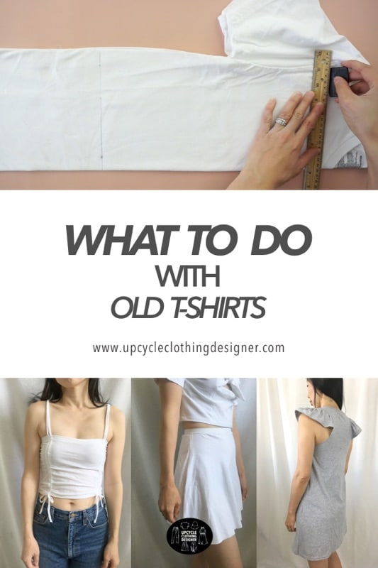What to do with old t-shirts
