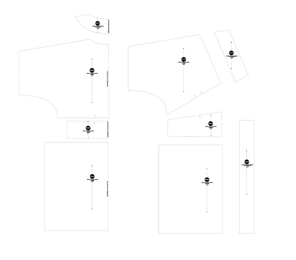 Kimono dress sewing pattern