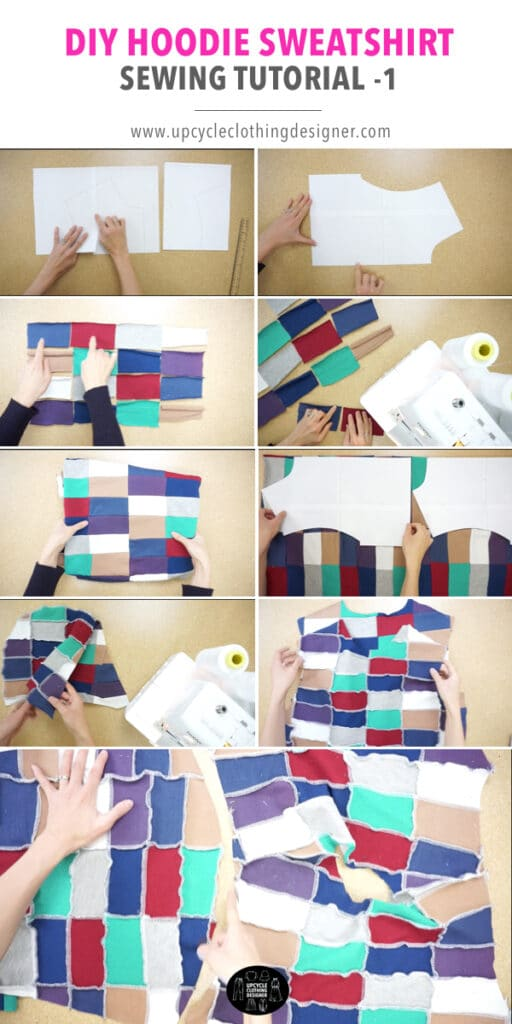 How to make patchwork fabric