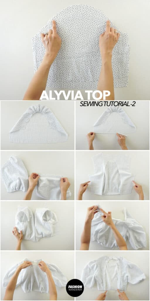 How to make puff sleeve blouse