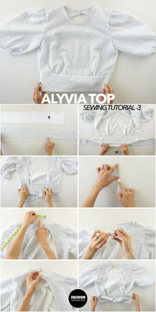 Make Alyvia top
