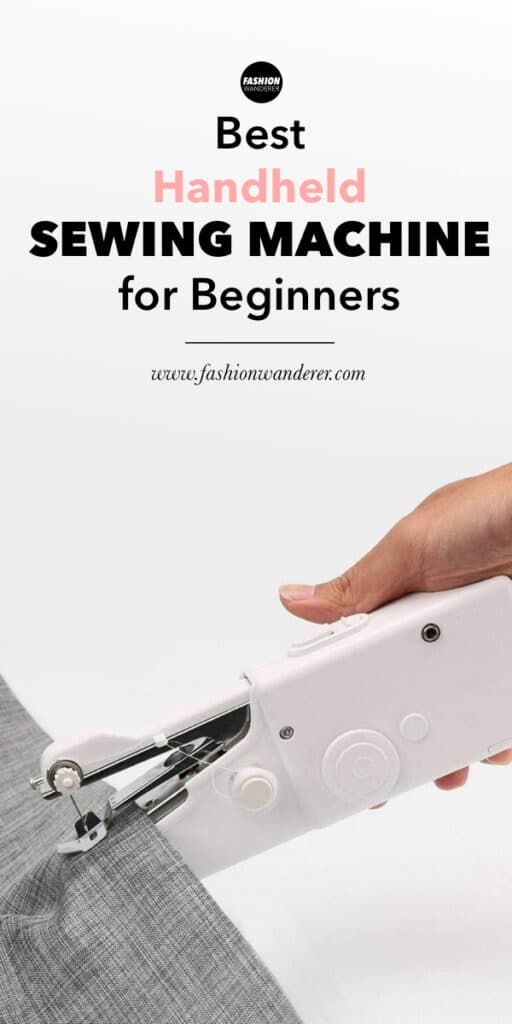 recommended handheld sewing machine to sew clothes
