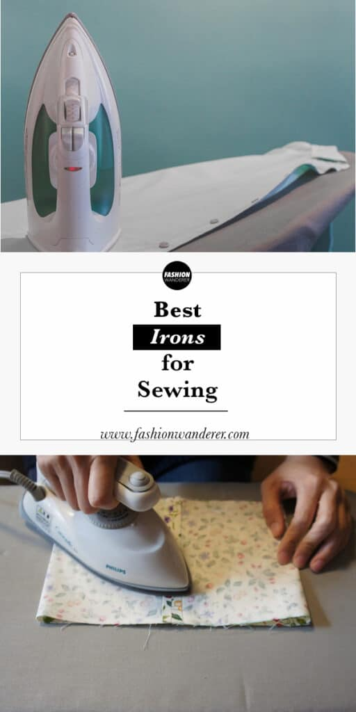 tips to select best irons for sewing project