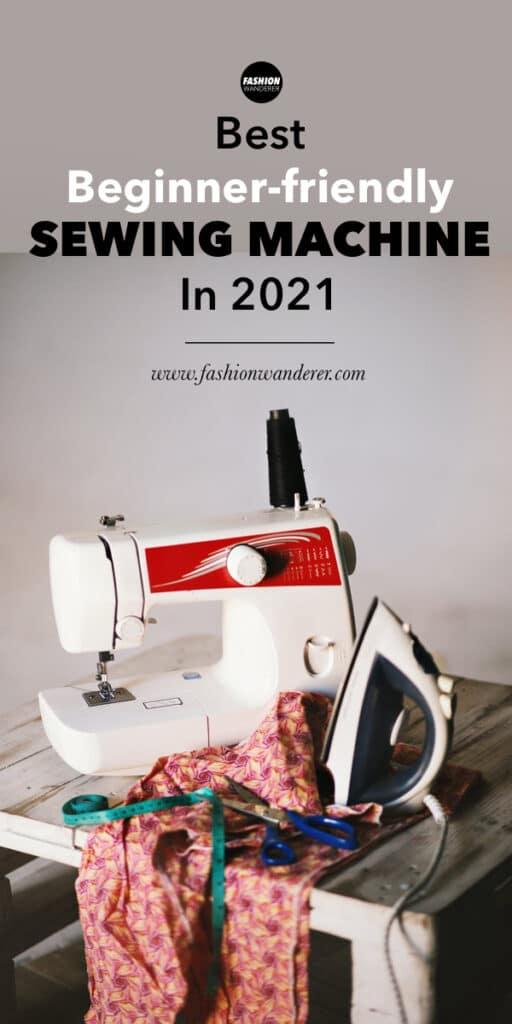 best brands for beginner friendly sewing machine