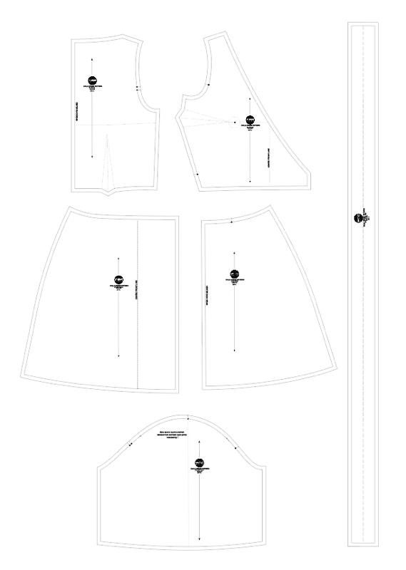calla wrap dress sewing pattern