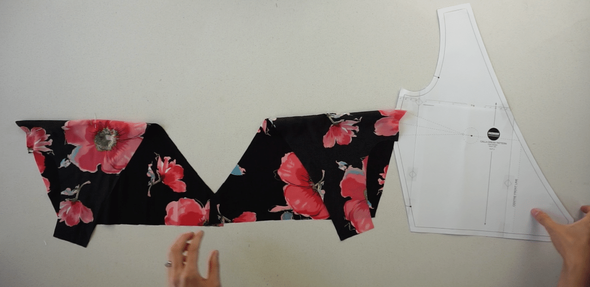 Copy the bust dart onto the other front bodice piece.