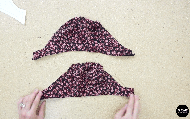 Puff sleeve pieces