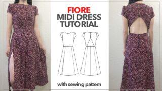Fiore midi dress thumbnail