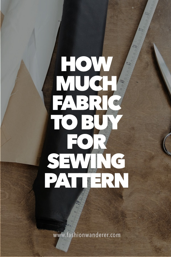 tips to find out fabrics to buy for sewing pattern