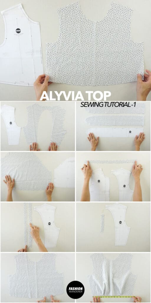 How to make Alyvia top
