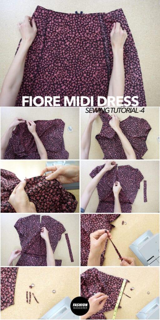 How to make Fiore midi dress