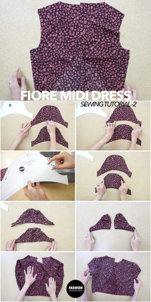 How to make Fiore midi dress bodice