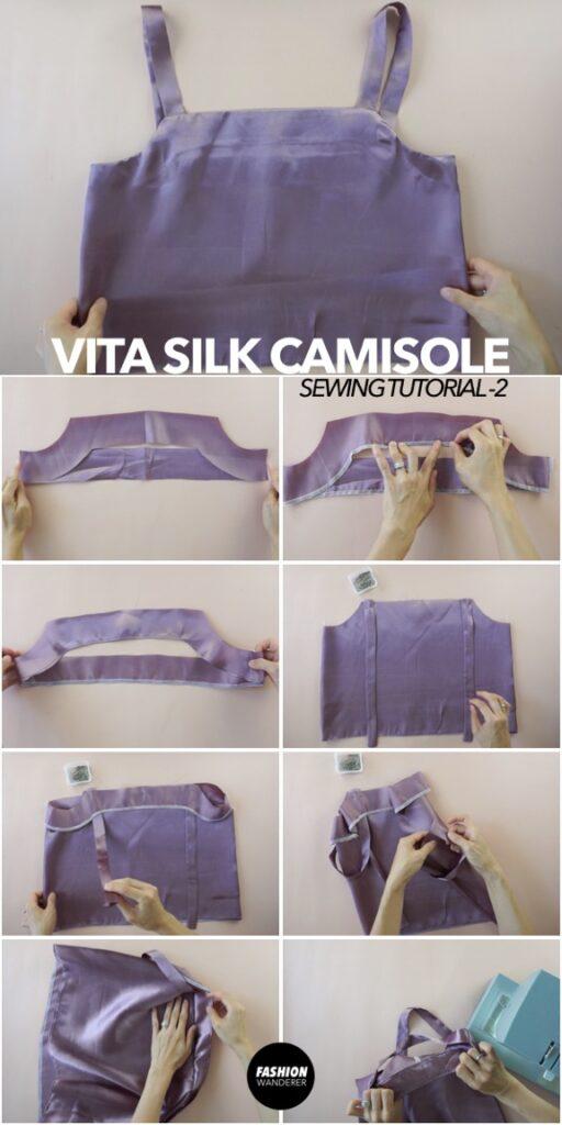 how to make vita camisole
