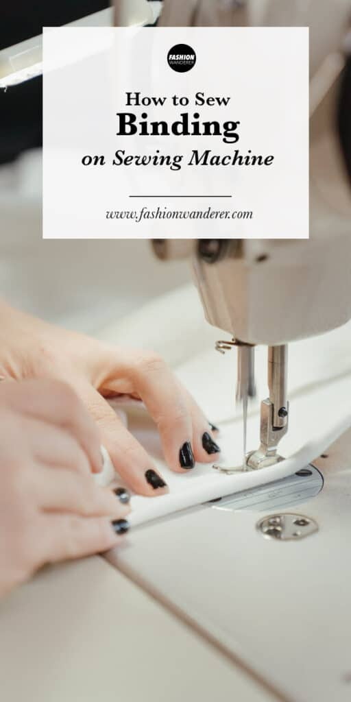 step by step tutorial how to sew binding on sewing machine