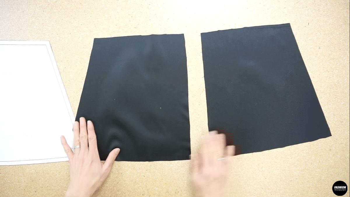Noa lace camisole back piece pattern