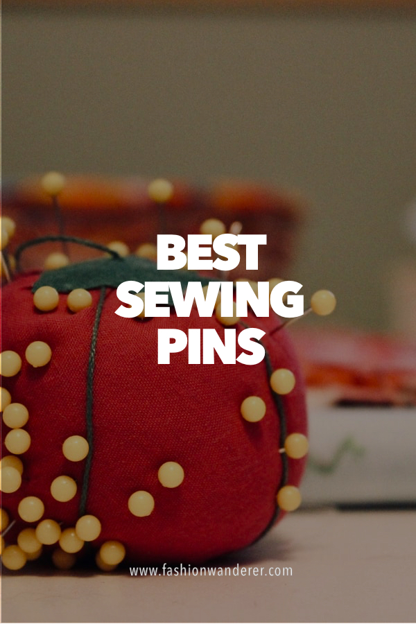 best sewing pins