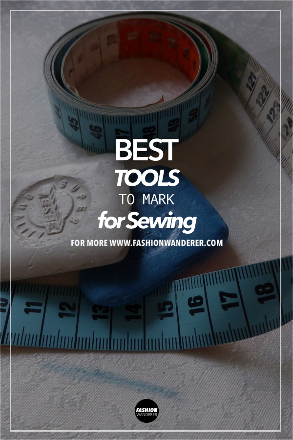 Best tools to mark fabric for sewing