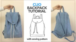 Clio backpack tutorial
