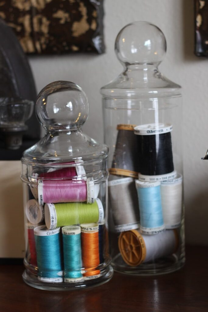 colorful thread for sewing machine