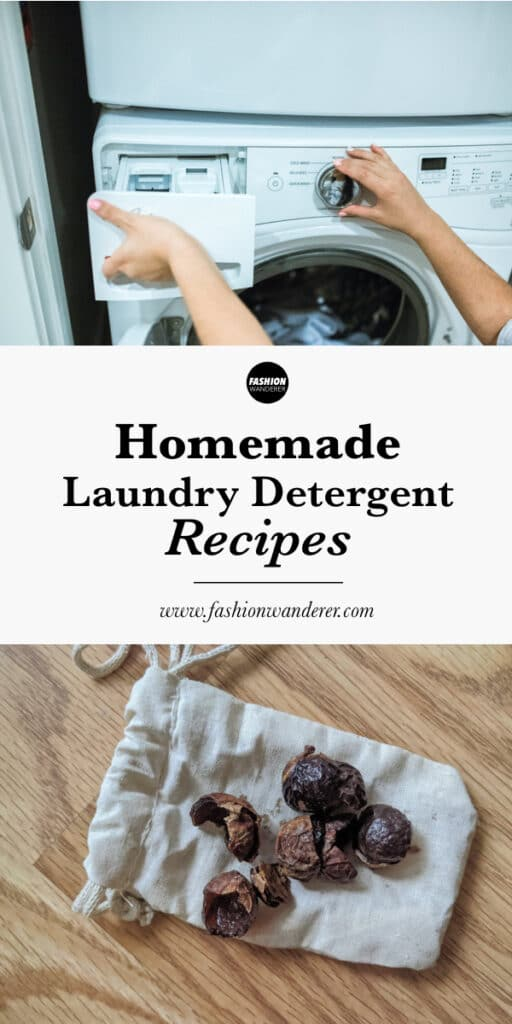 step tutorial on how to make homemade laundry detergent recipes for clothes