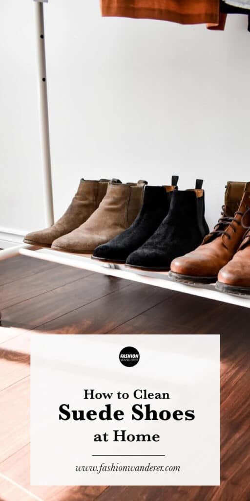 tutorial on how to clean suede shoes and boots