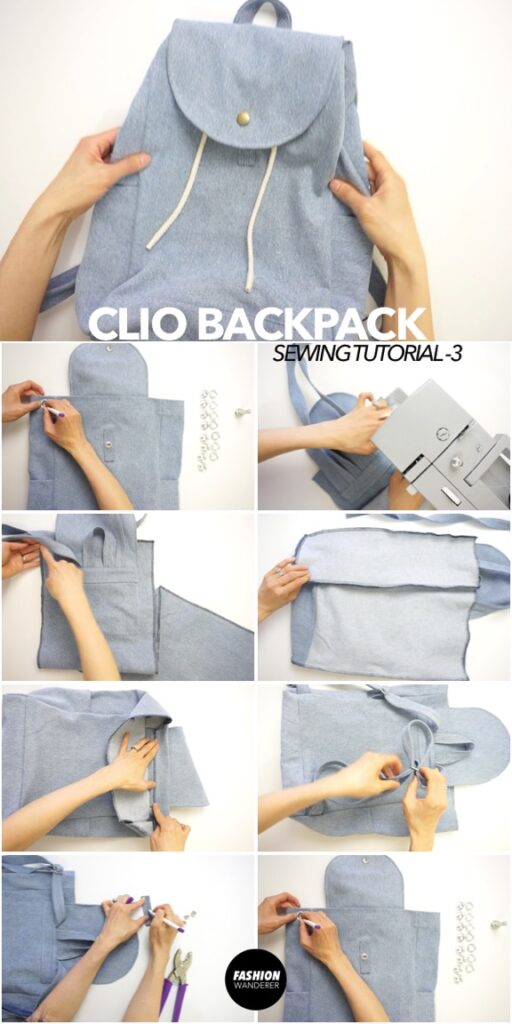 How to make DIY backpack