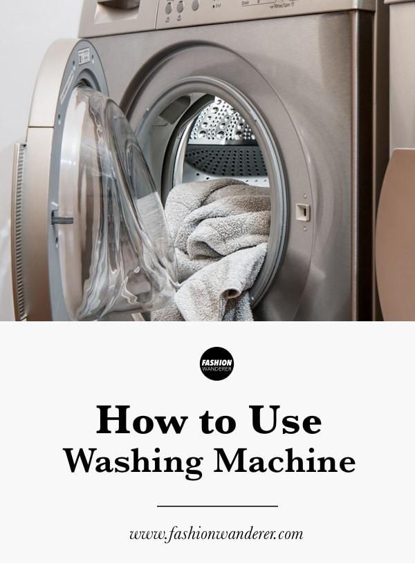 tips to use washing machine properly