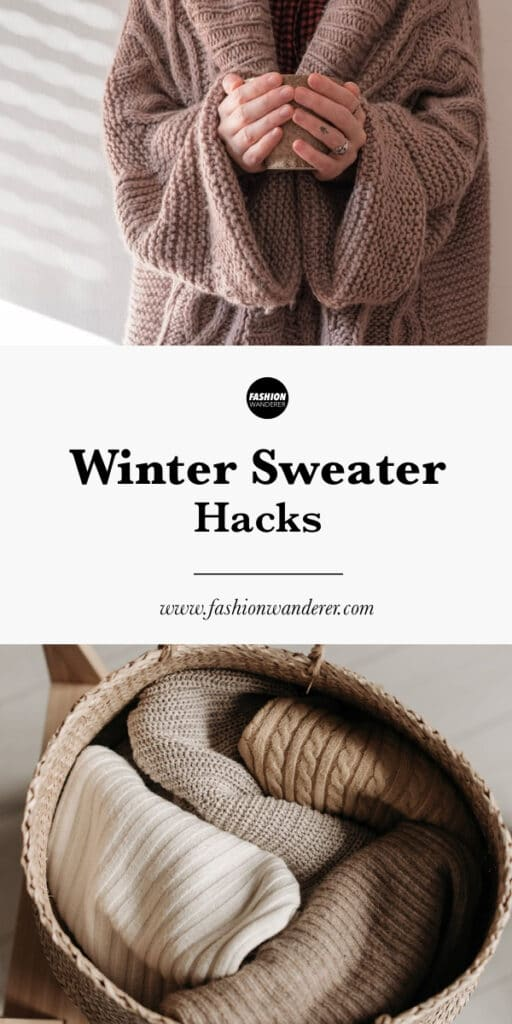tips on winter sweater hacks