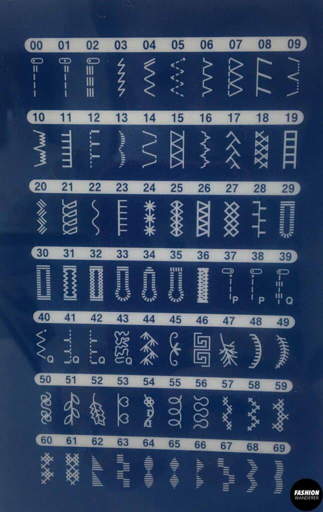 7 best sewing machine stitches