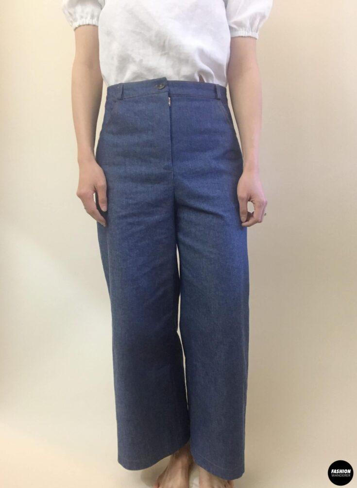 Ari denim jeans front view