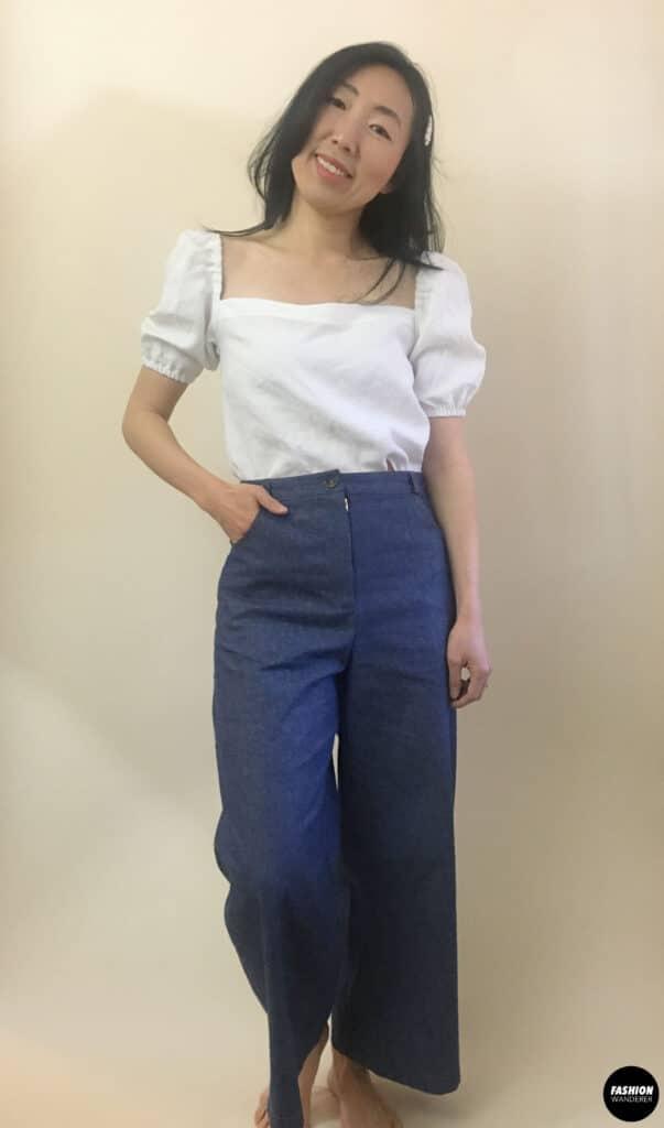 Ari denim jeans full shot