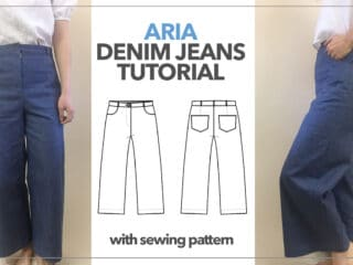 Ari denim jeans thumbnail