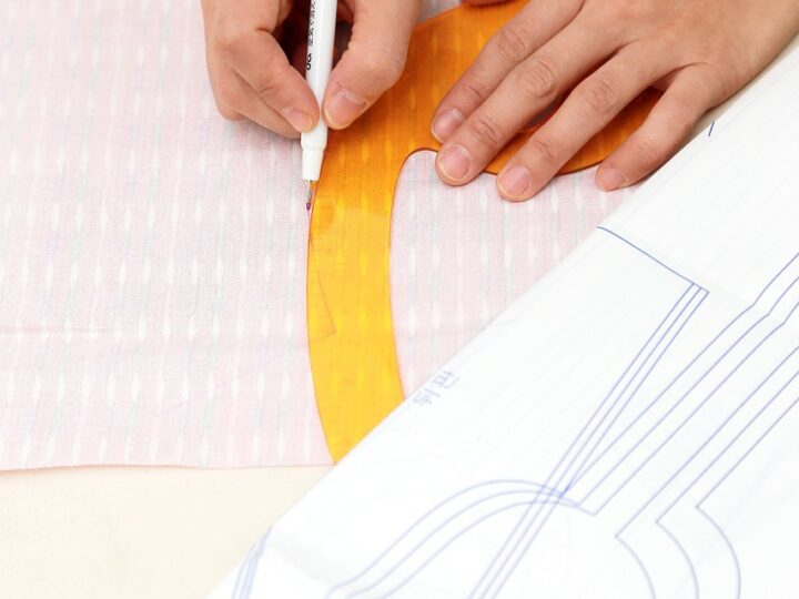 Best way to read sewing pattern